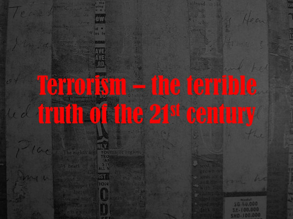 The largest act of international terrorism occurred on September 11, 2001 in a set of coordinated attacks on the United States of America where Islamic terrorists hijacked civilian airliners and used them to attack the World Trade Center towers in New York City and the Pentagon in Washington, DC.