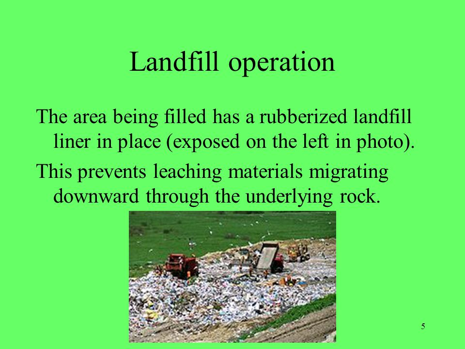 6 Learning check What is waste management.