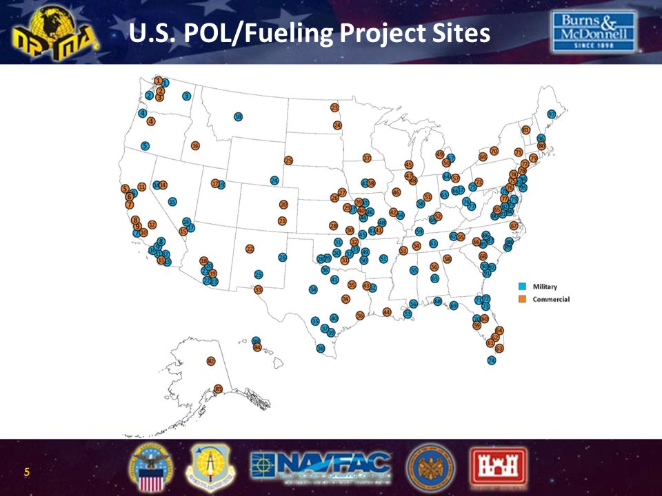 International Fueling Project Sites 6