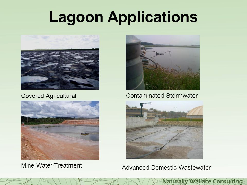 Lagoon Applications Advanced Domestic Wastewater Mine Water Treatment Covered Agricultural Contaminated Stormwater