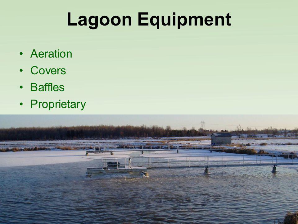 Lagoon Equipment Aeration Covers Baffles Proprietary