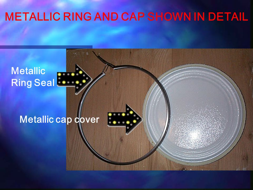 RING CLOSURE MECHANISM SHOWN ALLOWS PRODUCER TO RESEAL UNUSED DINAPELL PRODUCT TO MAINTAIN EFFICACY & FRESHNESS.