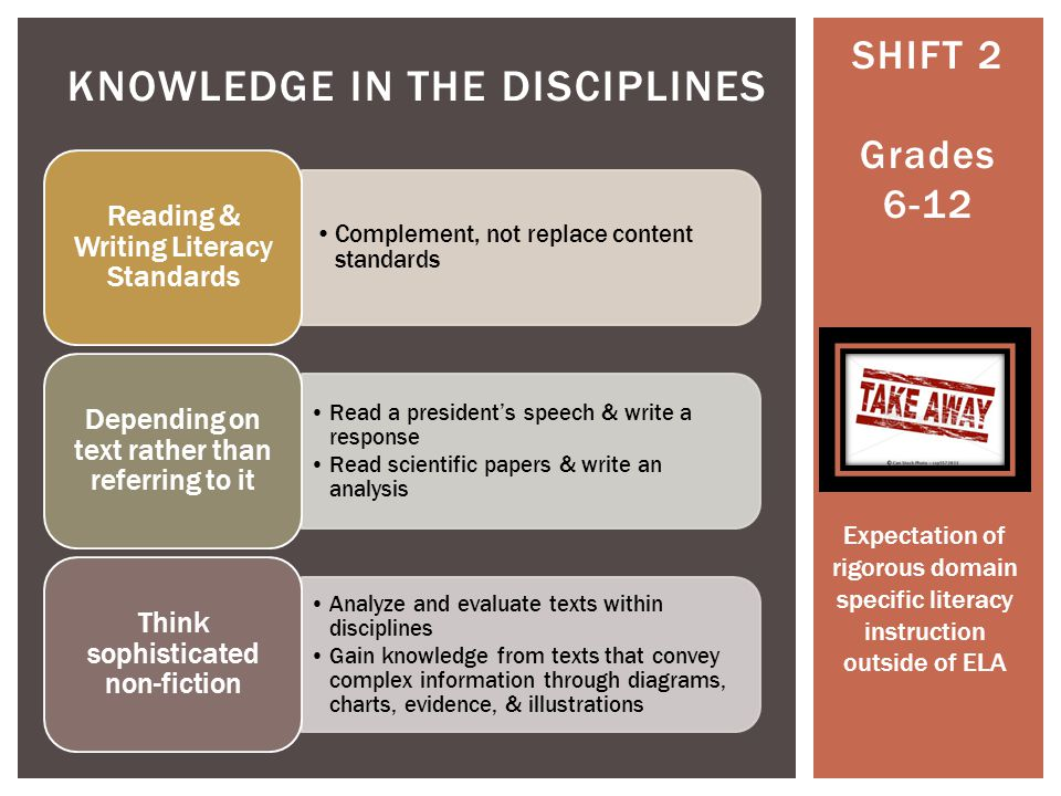 SHIFT 1 Balancing Informational and Literary Texts SHIFT 2 Building Knowledge in the Disciplines Core Text Pre- CCLS The Study of the Cell 7