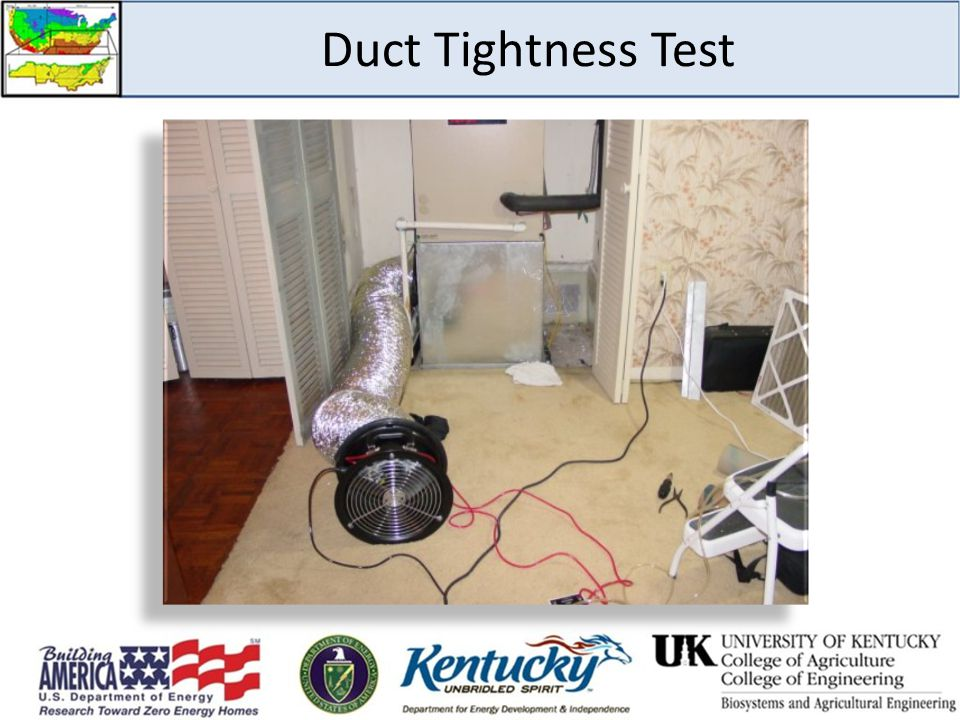 Duct Tightness Test