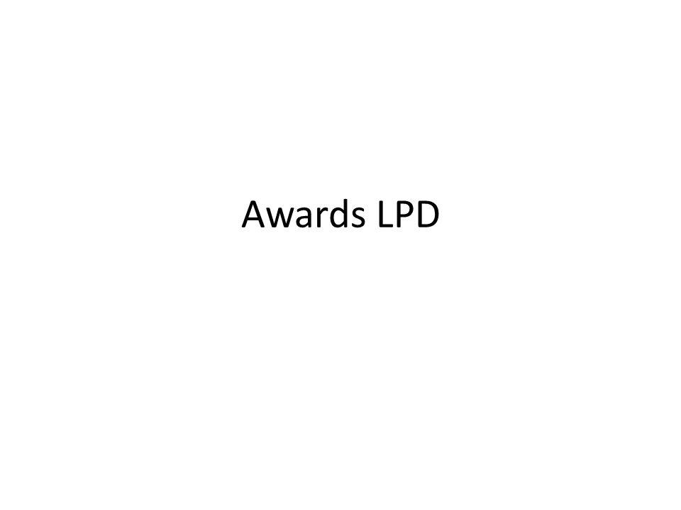 Awards LPD