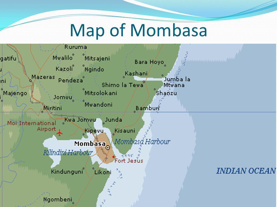 Map of Mombasa