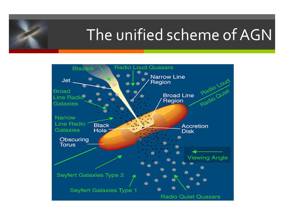 The unified scheme of AGN