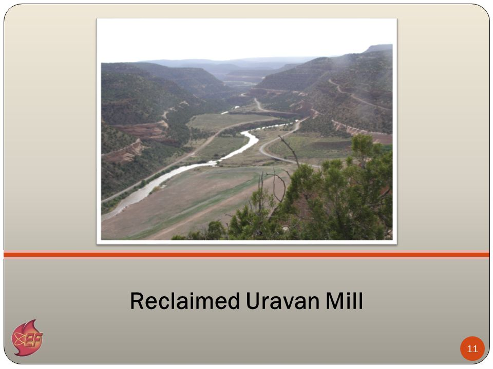 11 Reclaimed Uravan Mill