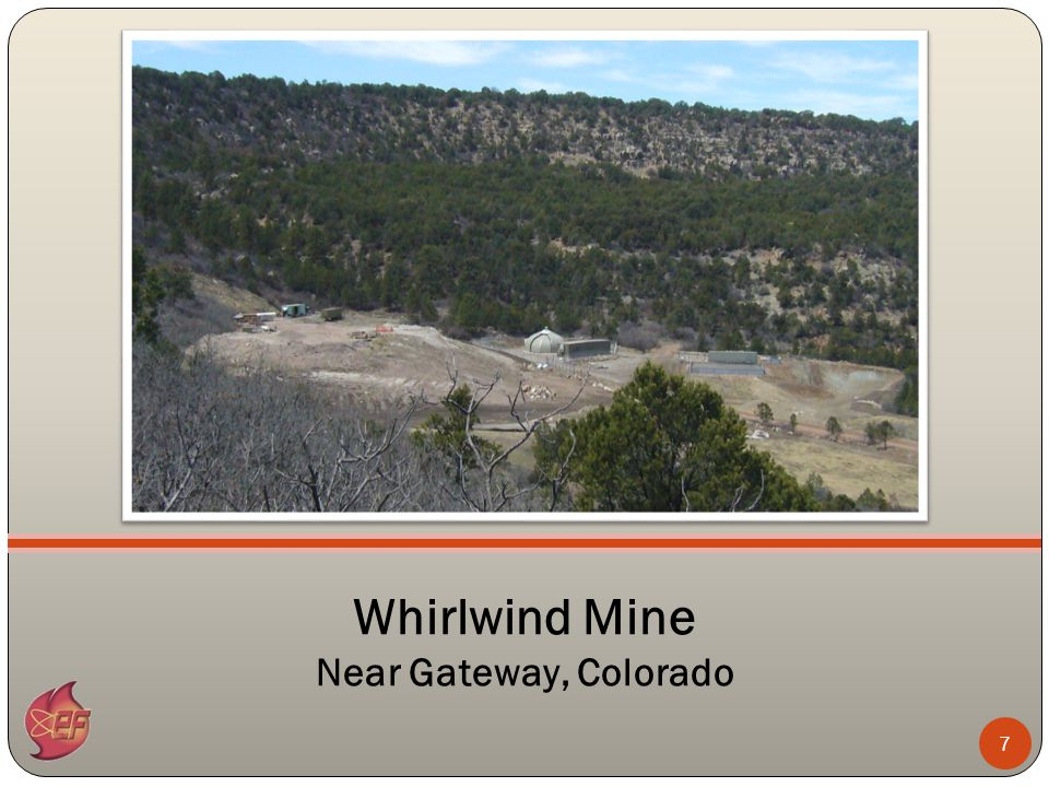 7 Whirlwind Mine Near Gateway, Colorado