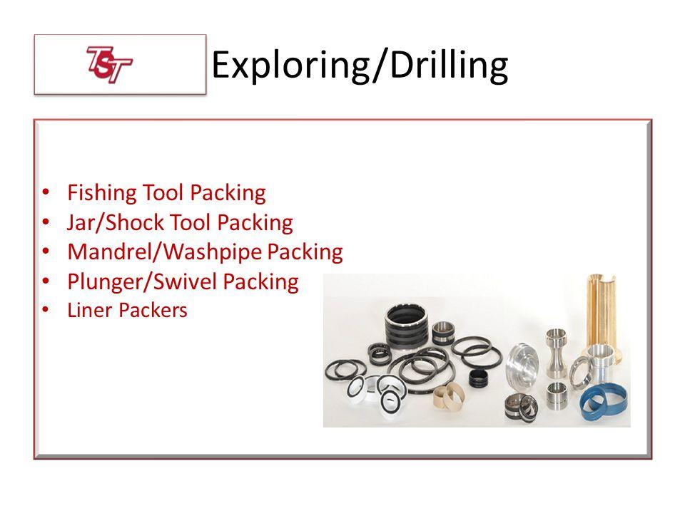 Exploring/Drilling Fishing Tool Packing Jar/Shock Tool Packing Mandrel/Washpipe Packing Plunger/Swivel Packing Liner Packers