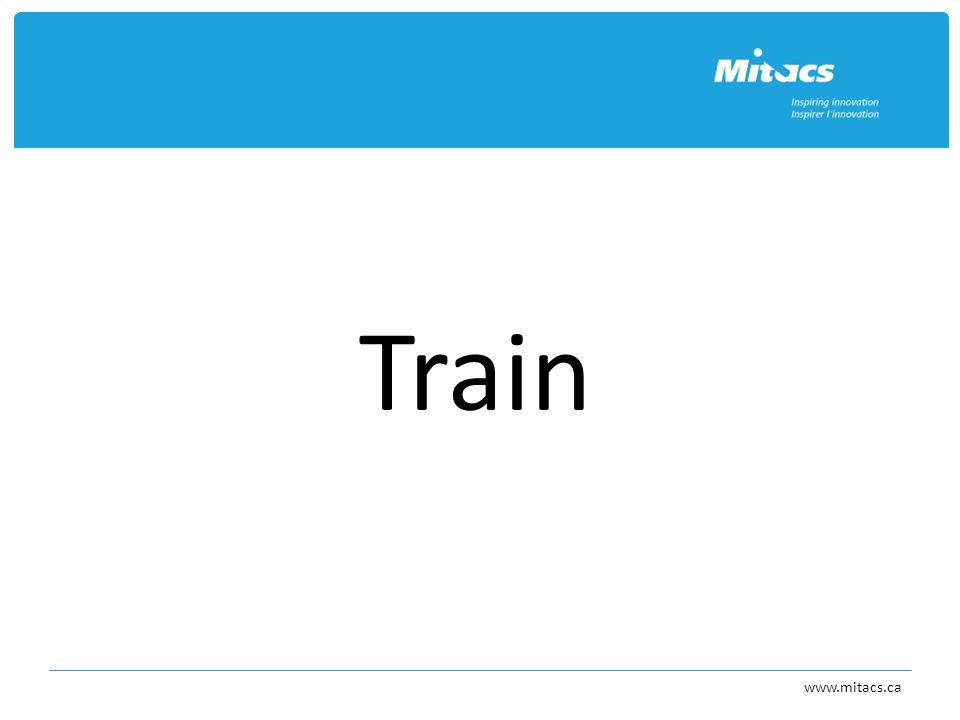 Train www.mitacs.ca
