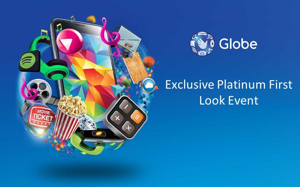 Exclusive Platinum First Look Event