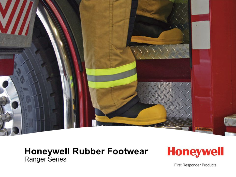 1HONEYWELL - CONFIDENTIAL File Number Honeywell Rubber Footwear Ranger Series