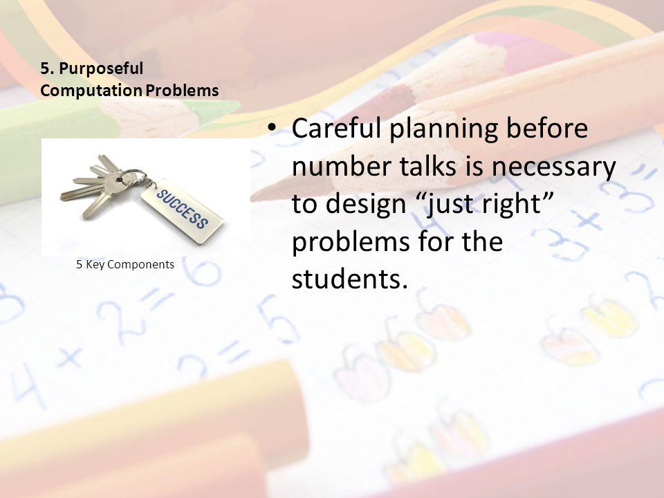 How Do I Prepare for Number Talks.
