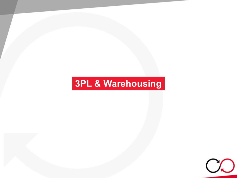 3PL & Warehousing