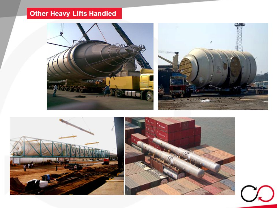 Other Heavy Lifts Handled