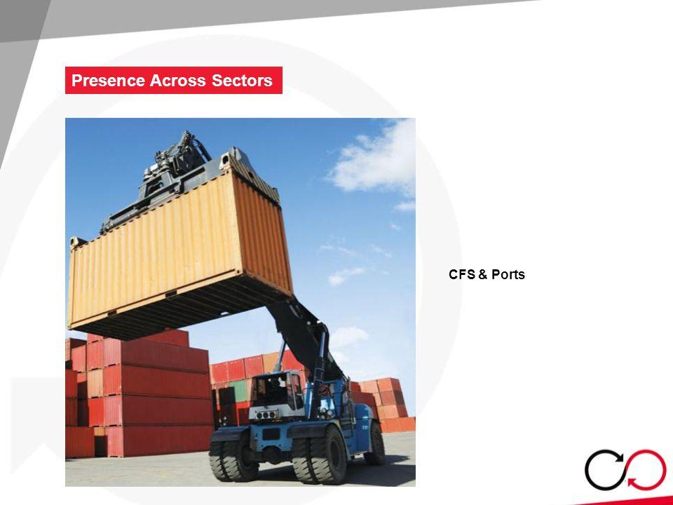 CFS & Ports Presence Across Sectors