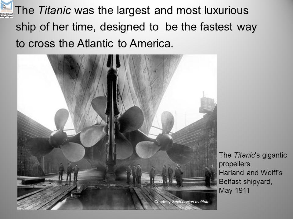 Look at: http://www.britannica.com/titanic/art-165558 http://www.britannica.com/titanic/art-165558 for an interactive tour of Titanic.