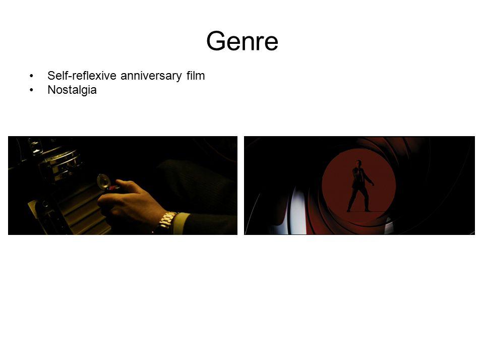 Genre Self-reflexive anniversary film Nostalgia