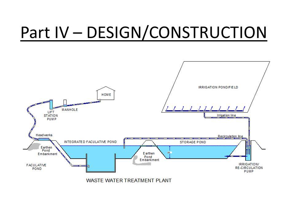 Treatment Process (Irrigation pond/field):