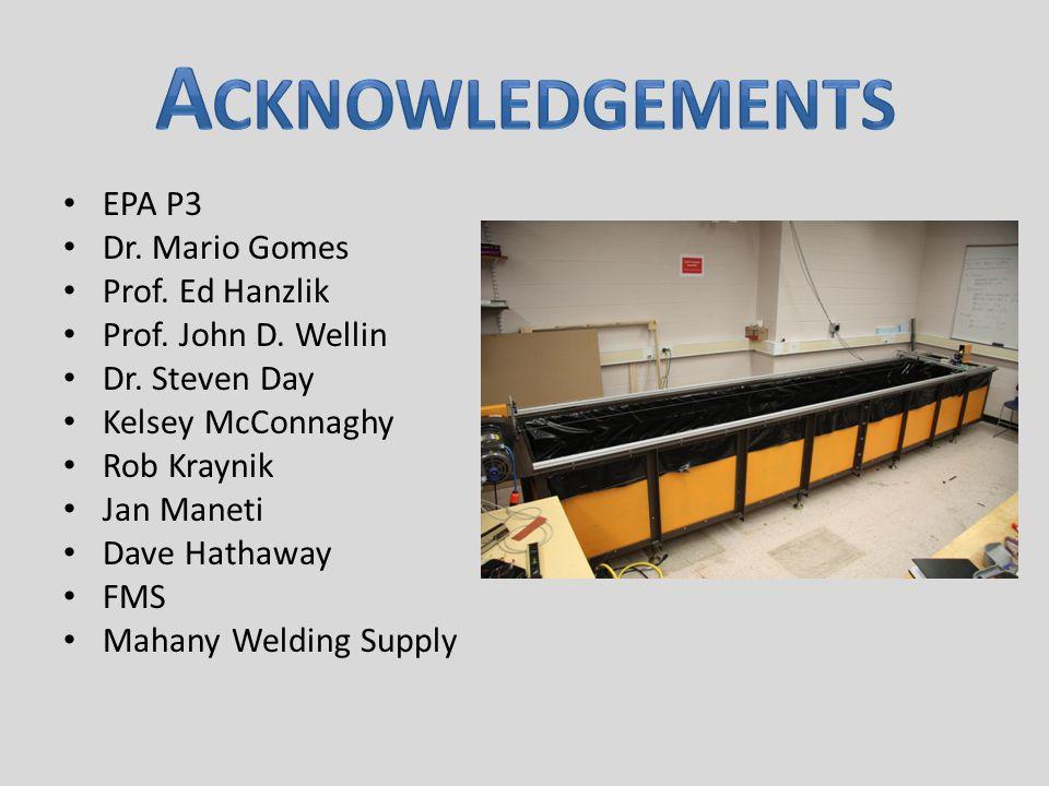 EPA P3 Dr. Mario Gomes Prof. Ed Hanzlik Prof. John D.