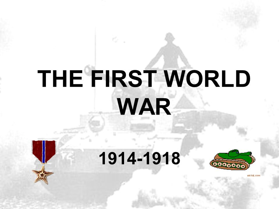 The Great War ; The War To End All Wars In your notes: What do you want to learn about WWI (and America's participation in it).