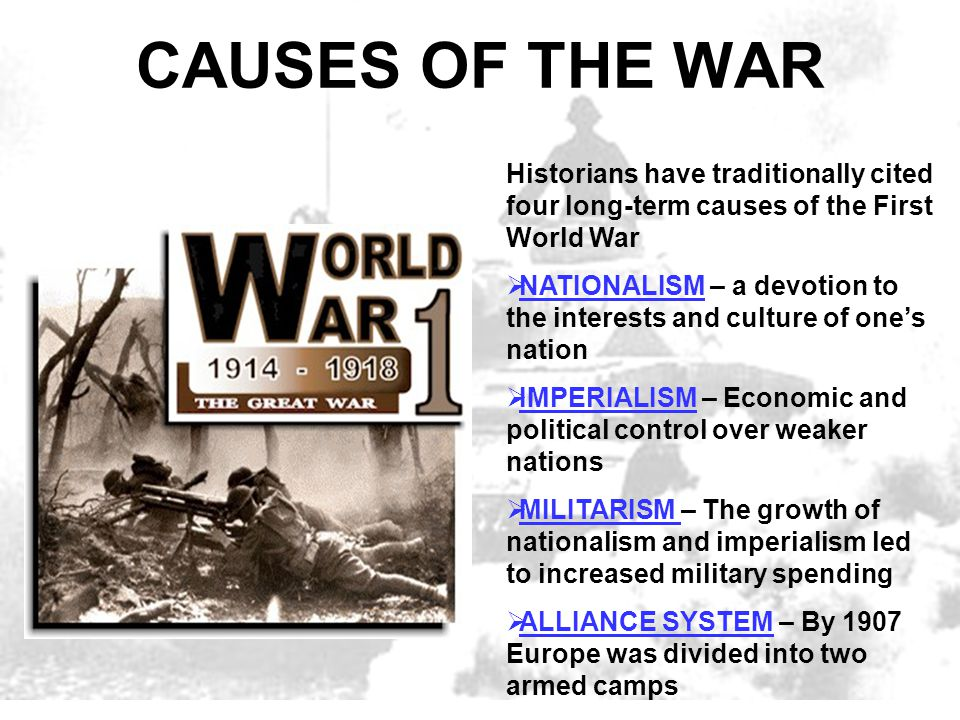 effects of world war 1 essay