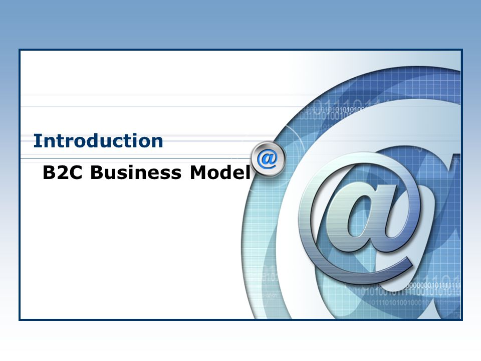 Introduction B2C Business Model