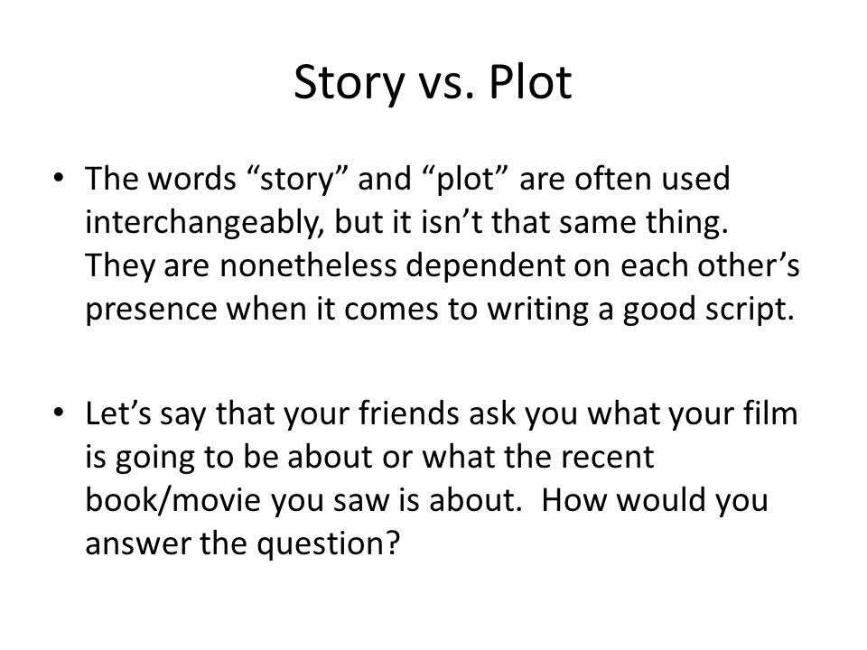 Story vs.