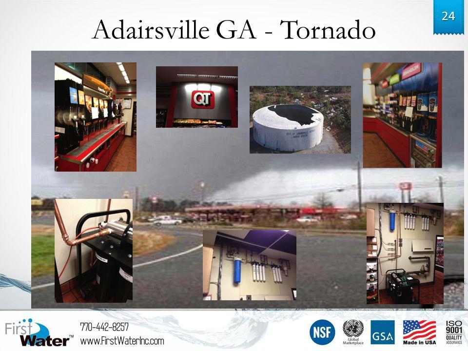 Adairsville GA - Tornado 24