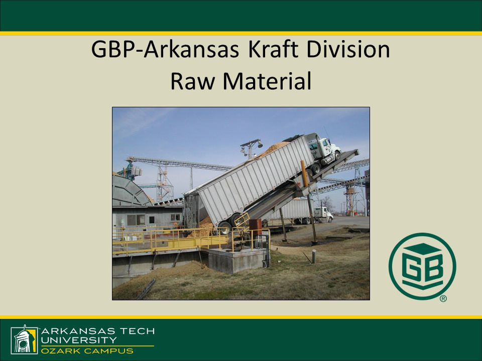 GBP-Arkansas Kraft Division Raw Material