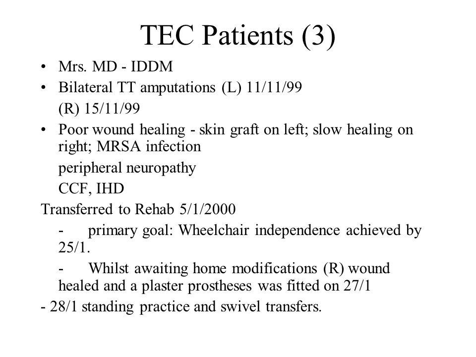 TEC Patients (3) Mrs.