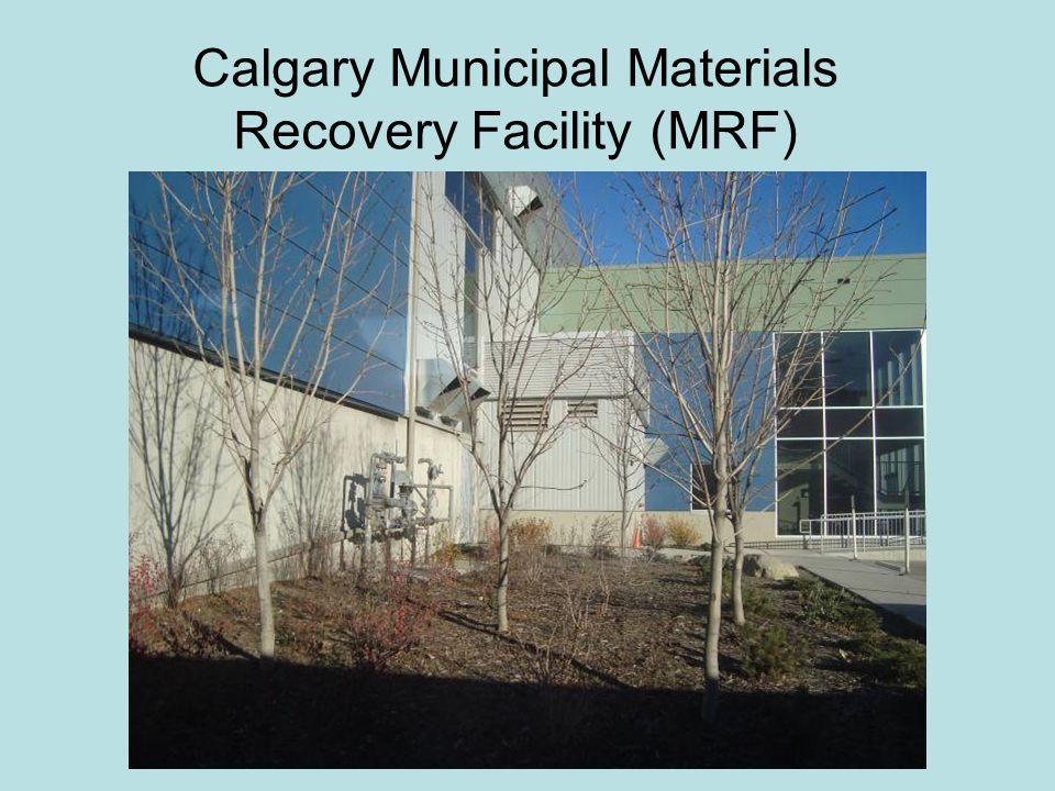 Calgary Municipal Materials Recovery Facility (MRF)