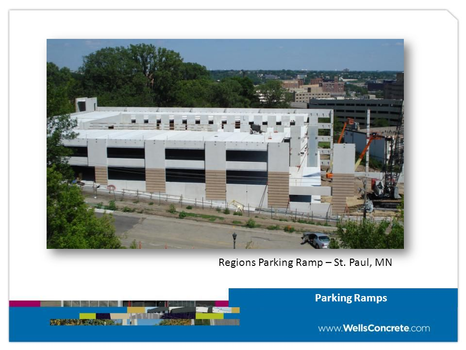 Parking Ramps Regions Parking Ramp – St. Paul, MN