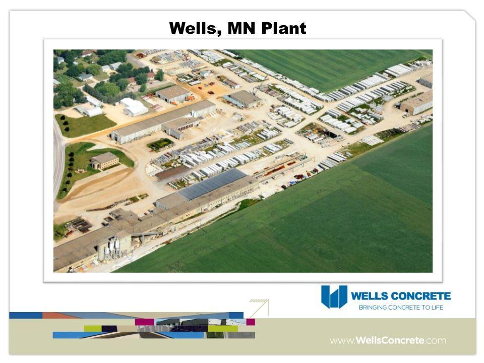 Wells, MN Plant