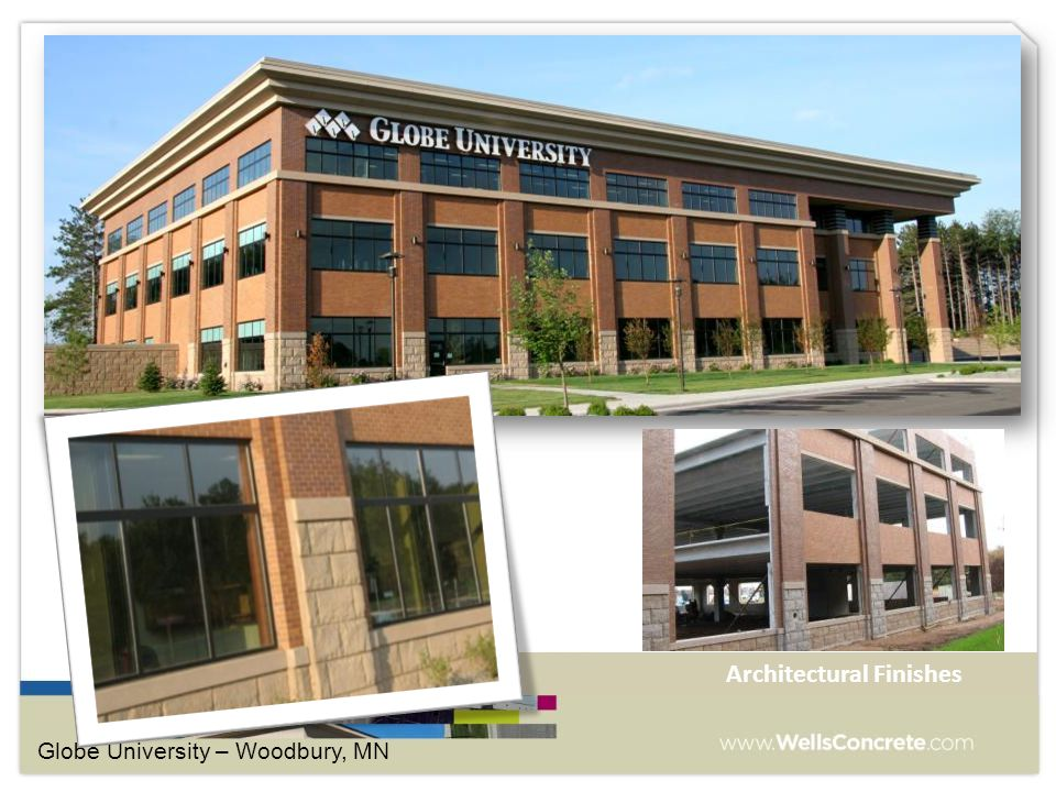 Globe University – Woodbury, MN Architectural Finishes
