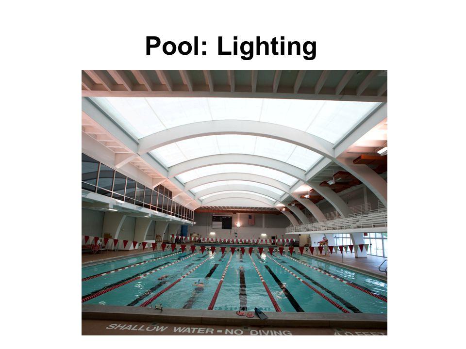 Pool: Lighting