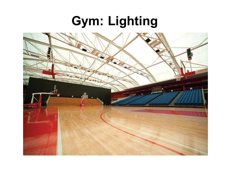 Gym: Acoustical Performance Conventional Construction vs. Tensotherm Roof (Occupied)