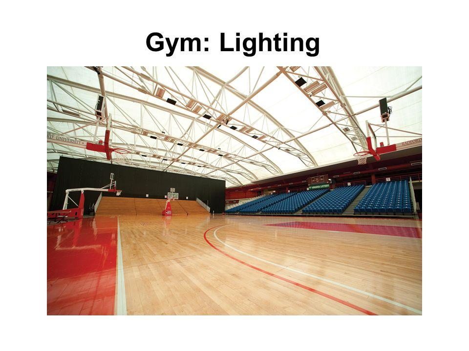 Gym: Lighting