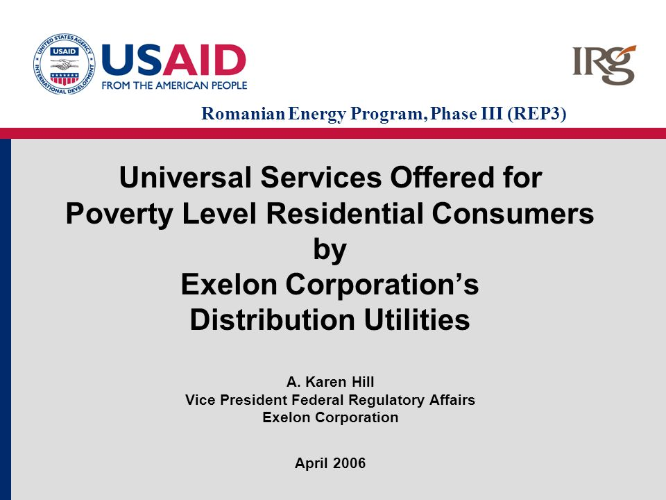 22 Utility Emergency Services Fund Private tax exempt non-profit organization assisting low income families with emergency utility needs Donations from private entities matched by utility funds Grants to families to pay utility bills –Under $500 –Shut off status –Applied for LIHEAP funds –At or below 175% of federal poverty level