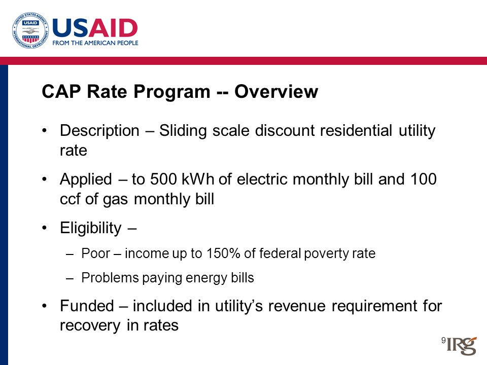 20 Low Income Usage Reduction Program – Conservation Measures Attic vents Caulking Chimney liner Insulation Thermostat Clothes dryer vent Efficient lights Heating system replacement Door replacement Weather stripping Seal holes and penetrations Water heater replacement Refrigerator replacement Low flow showerhead Space heating duct insulation Window air conditioner Rim joist insulation Furnace filter replacement Faucet aerator Education