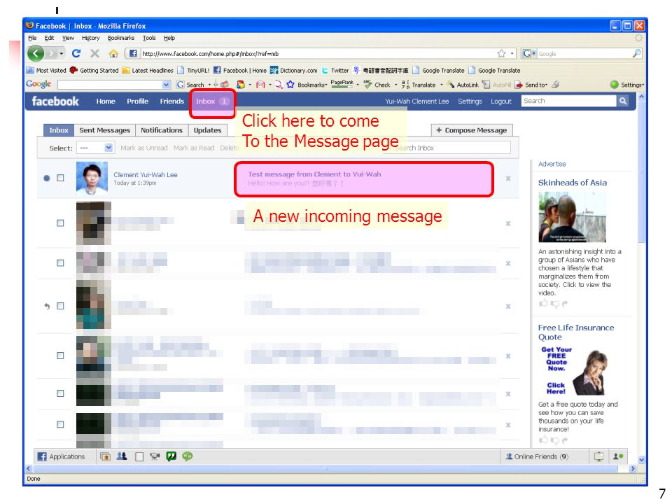 facebook 101: leeyuiwah.blogspot.com 18 What are the main things to do.