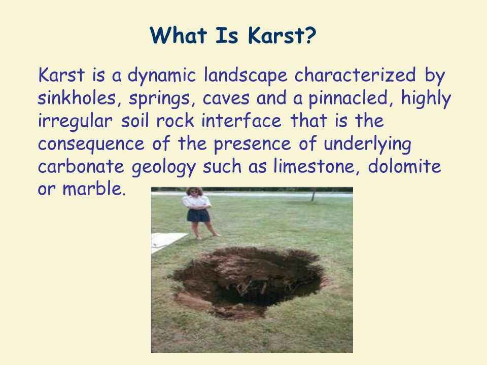 What Is Karst.