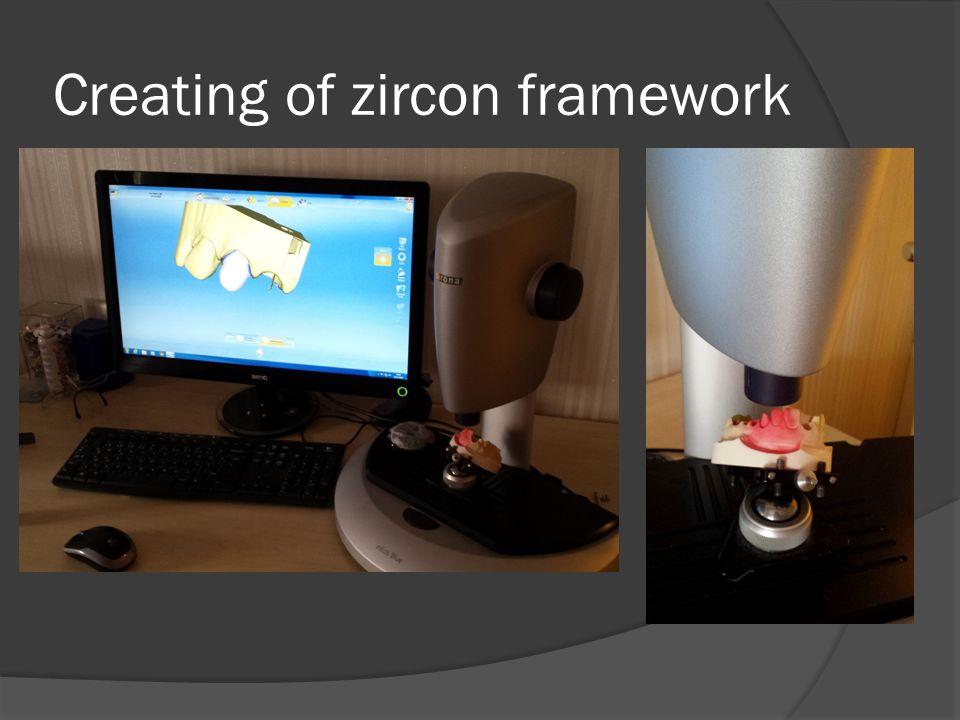 Creating of zircon framework