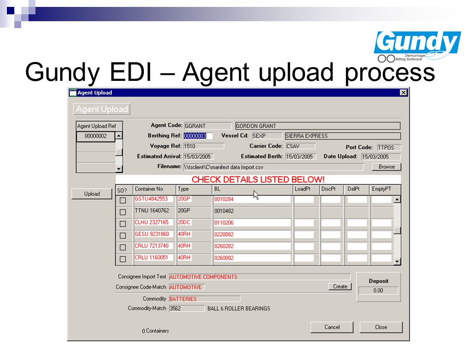 Gundy EDI The productivity enhancer Baplie Microsoft Excel