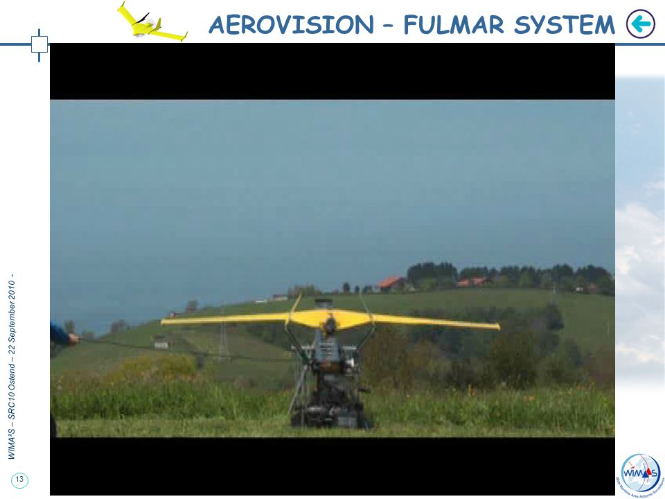 13 WIMA²S – SRC10 Ostend – 22 September 2010 - AEROVISION – FULMAR SYSTEM