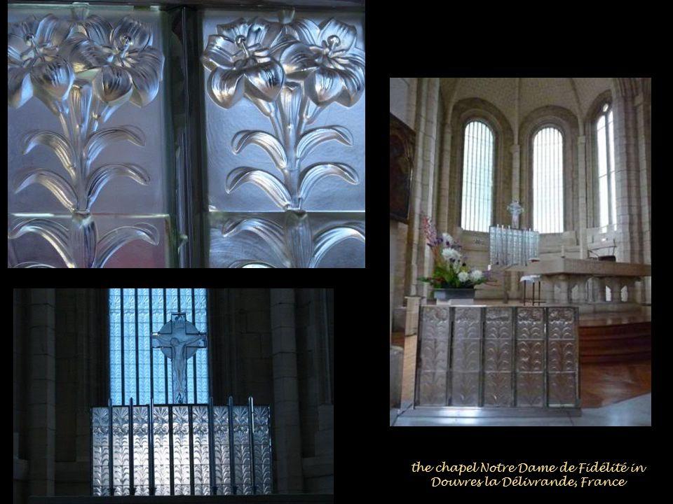 the chapel Notre Dame de Fidélité in Douvres la Délivrande, France