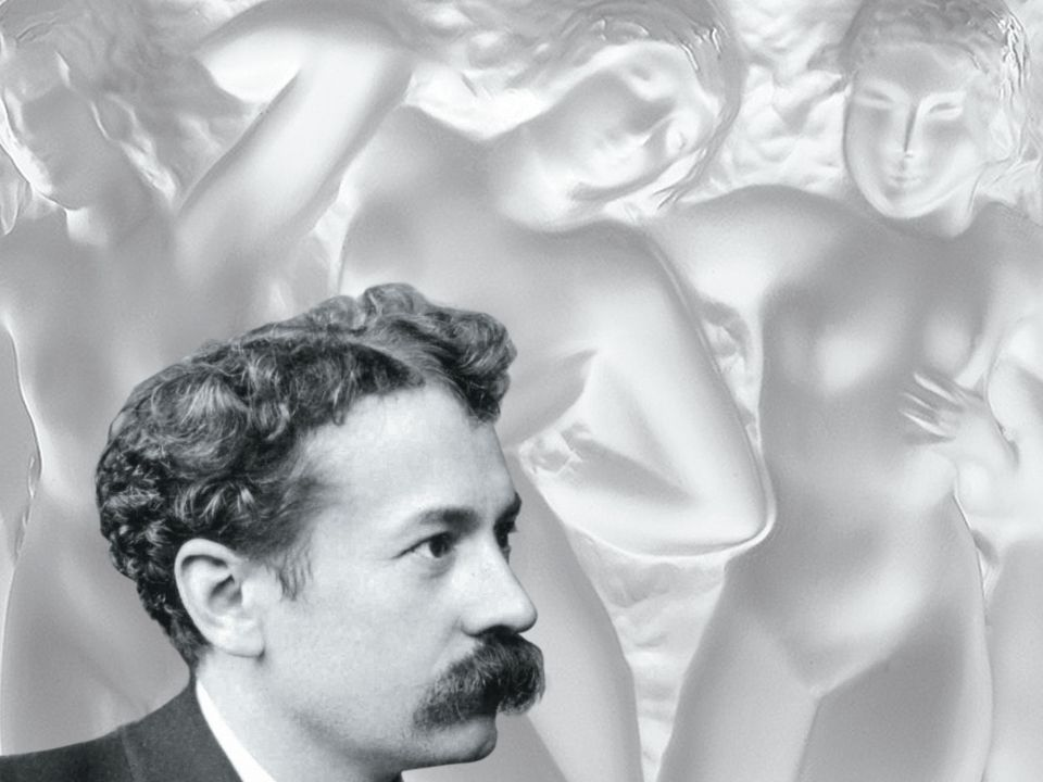 Lalique is remembered for his jewelry and his glass.