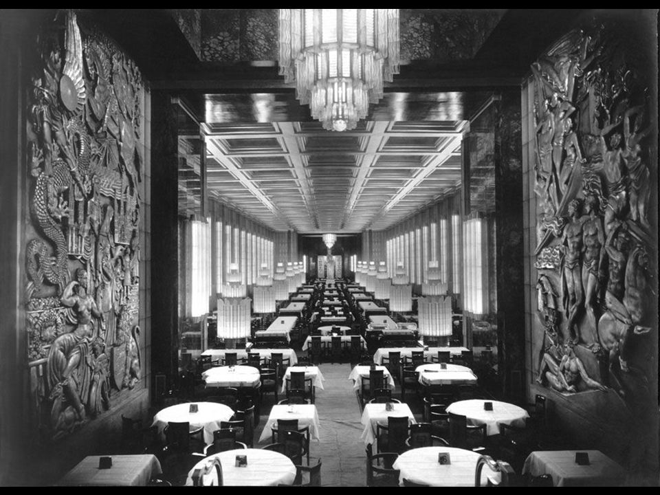 Among the most exceptional public rooms was the first-class dining room, which could seat 1,000 guests at a time and was reputedly so spectacular that even the most blasé traveler, whether millionaire, politician or movie star, was awed upon entering this temple of French cuisine.