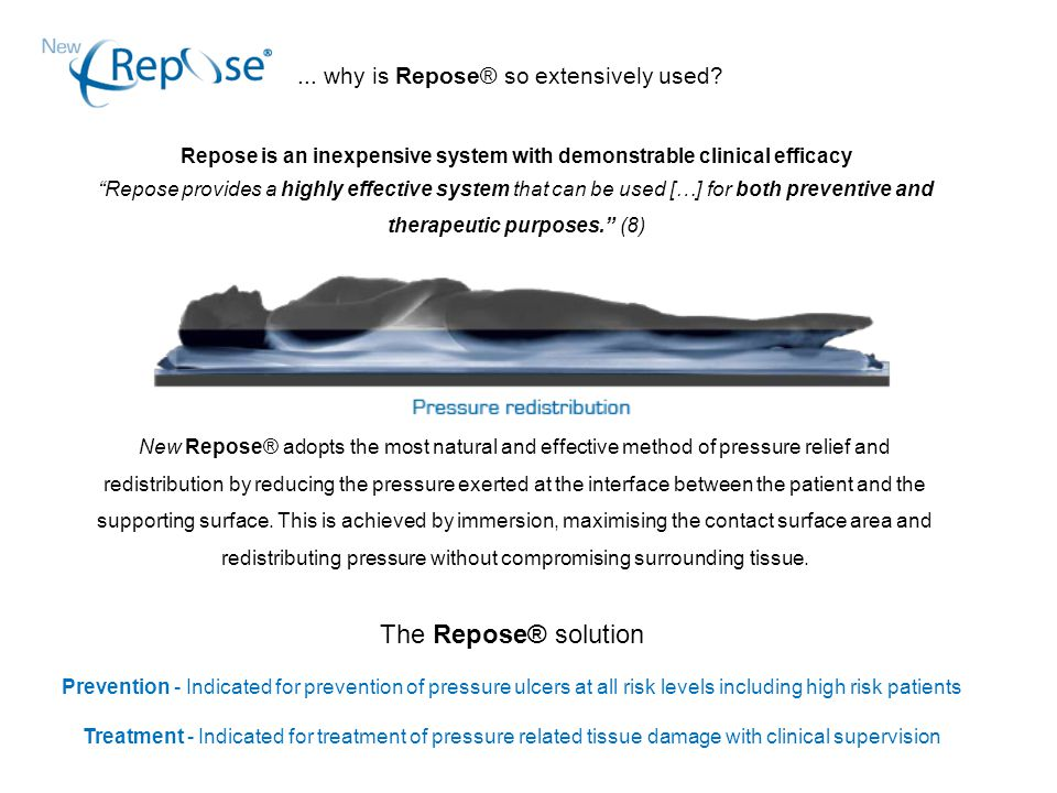 ... why is Repose® so extensively used.